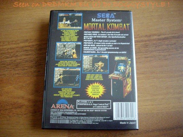 Mortal kombat sega master system online game